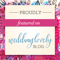 Featured on Wedding Lovely Blog
