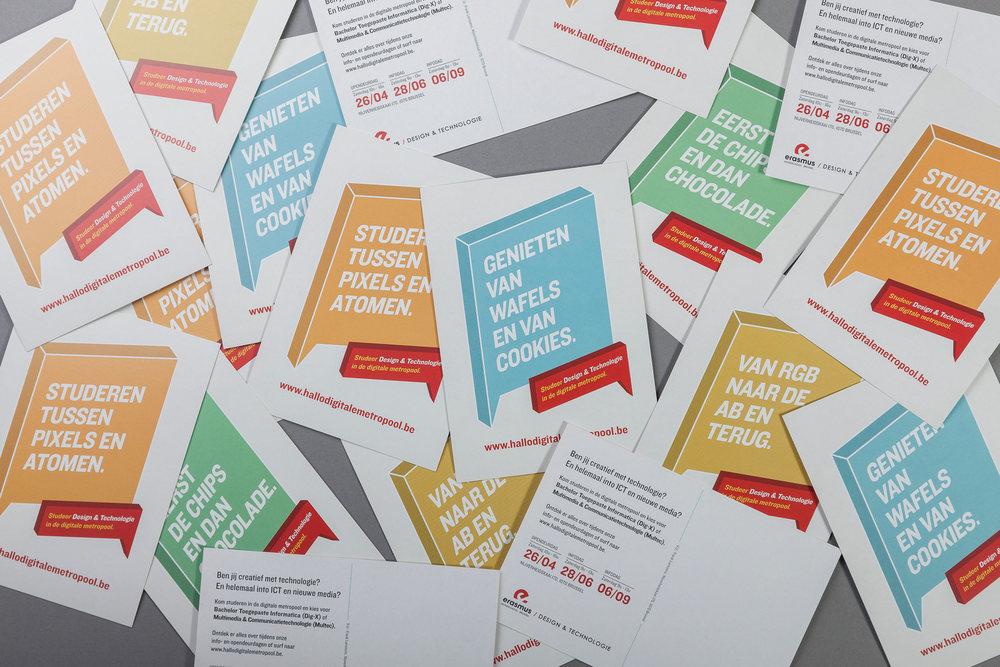 Erasmus Hello Digital Metropole boomerang cards