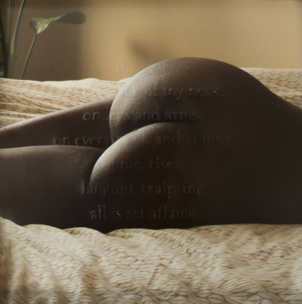 """Black Woman #3 (""""the uses of the erotic"""" II)"""