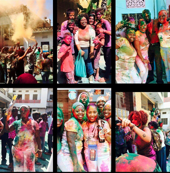 2015 India Nomadnessx Crew....on Holi! We run this.