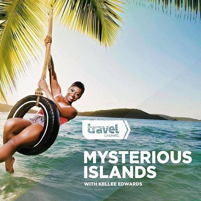 #nowwatching #MysteriousIslands with Kellee Edwards (@kelleesetgo). Turn to the @travelchannel right now and watch. Join us on #Twitter (@nomadnesstribe) or in the #Tribe as we celebrate and cheer on our very own #Tribe member as a host of her own show. THIS IS MAJOR.