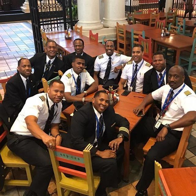 "#BlackExcellence in the skies. ""We fly high no lie, you know this."" Shout out to our pilots. ✈ If you know a pilot or aspiring pilot, tag them in comments. #NOMADNESS"