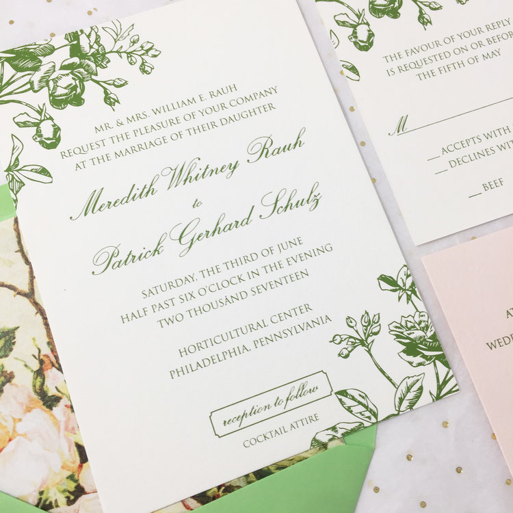 Home Luxury Custom Wedding Invitations Smoochie Paper