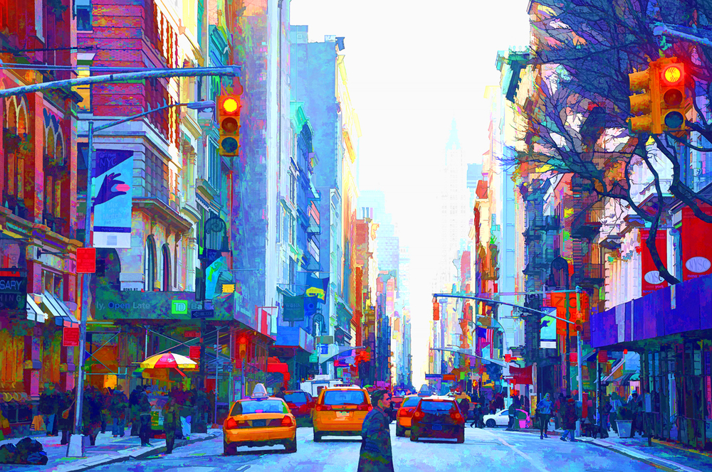 Colored Crosswalk
