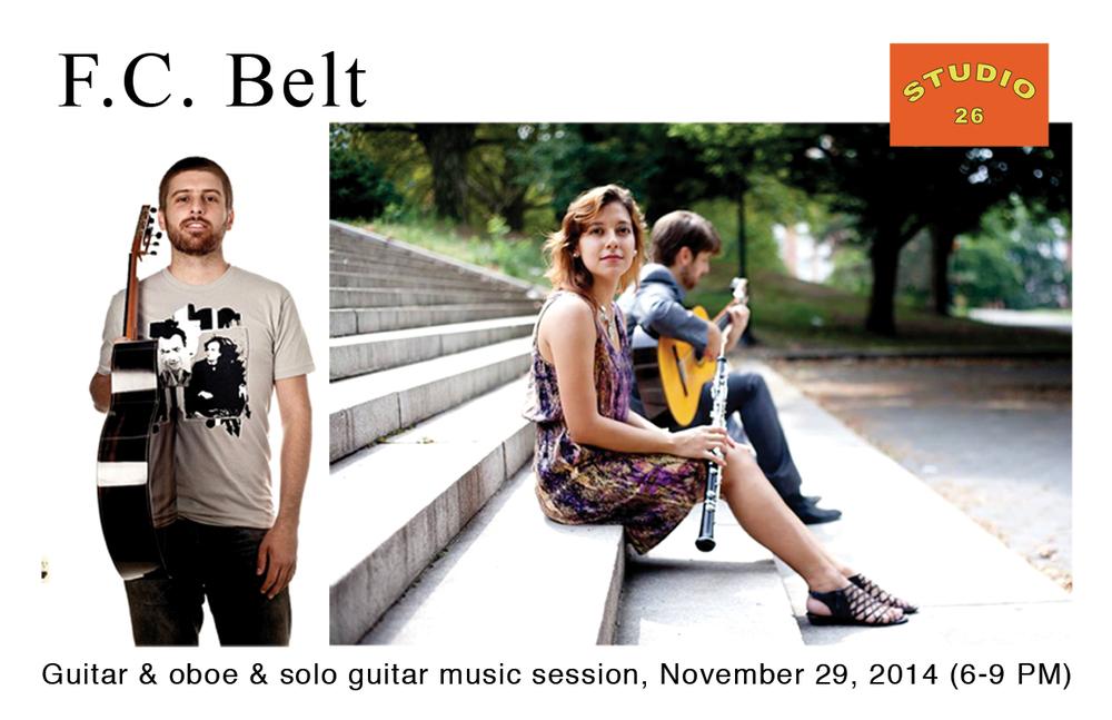 Studio 26 Music Session 112914