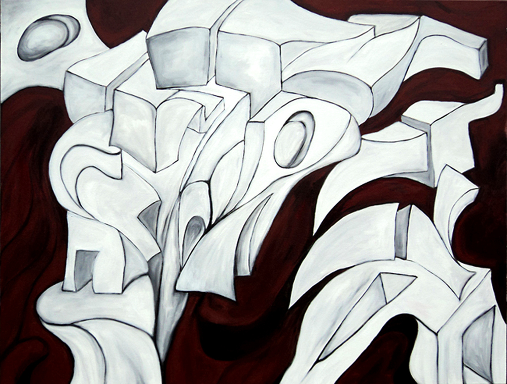 """""""Austerity""""   48 x 36    (2011)"""