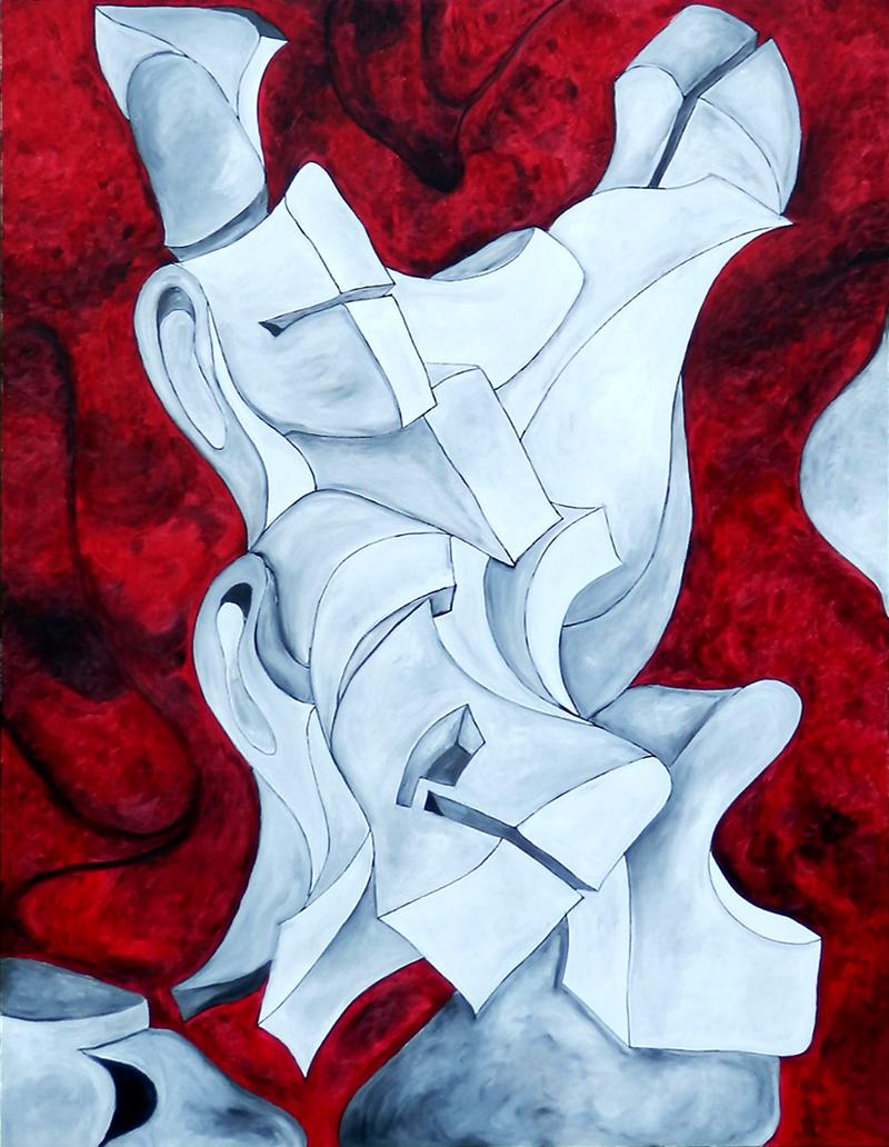 """""""Inked""""   36 x 48   (2013)"""