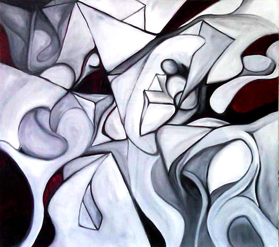 """""""Spatial prototype""""   40 x 44   (2012)"""