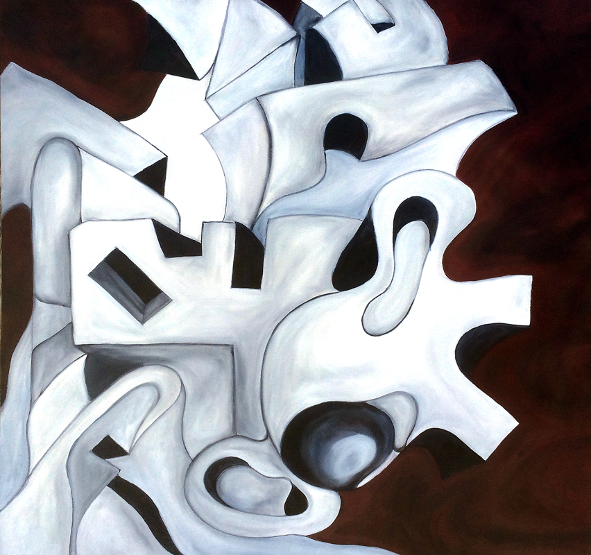 """""""Zero""""  36"""" x 36""""  (2014)"""