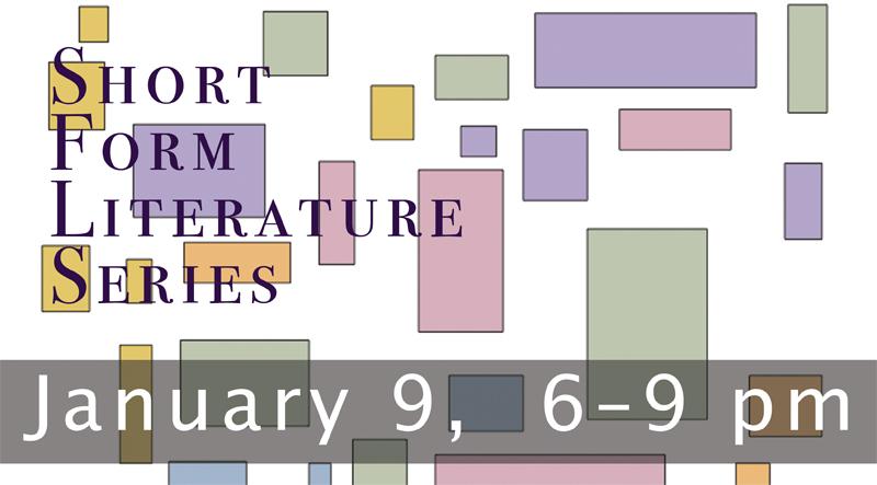 Studio 26 Gallery Short Form Literature Series January 2015