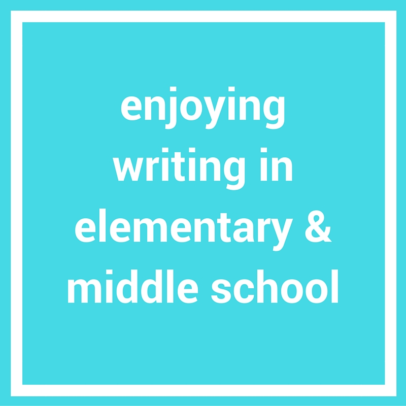 writing help for elementary and middle school grades