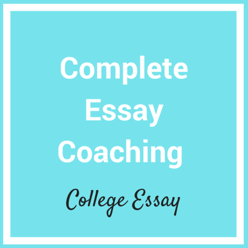 essay coaching writing your college