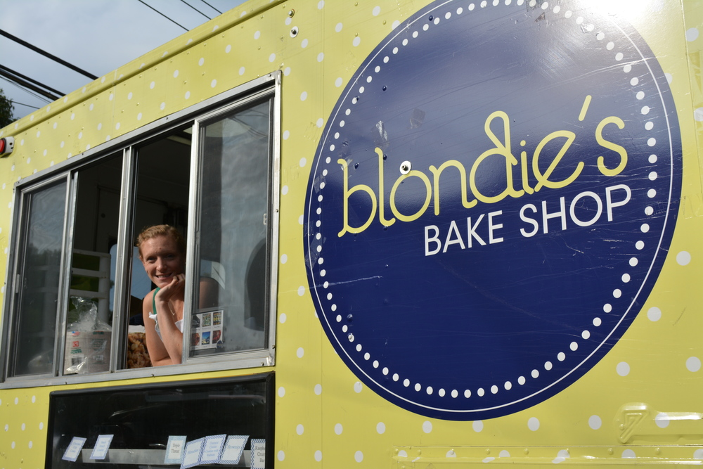 "Jess Kennaugh made her ""cupcake truck"" in New Jersey almost three years ago."