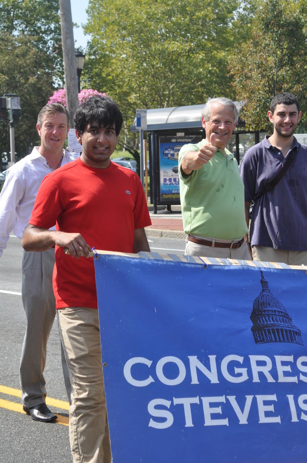 Congressman Steve Israel at the parade.
