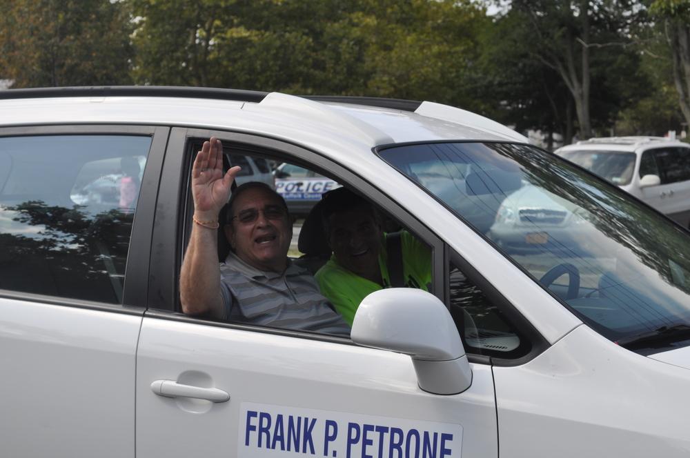 Huntington Supervisor Frank Petrone.