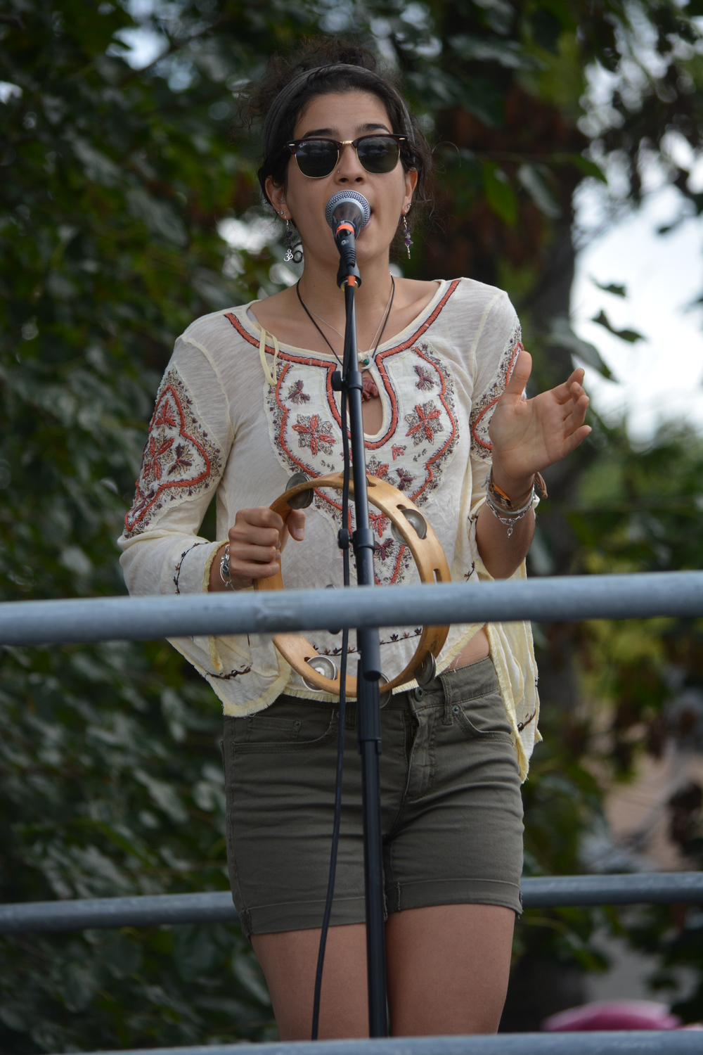 Stephanie Tolino sings for the band Motion Ocean.
