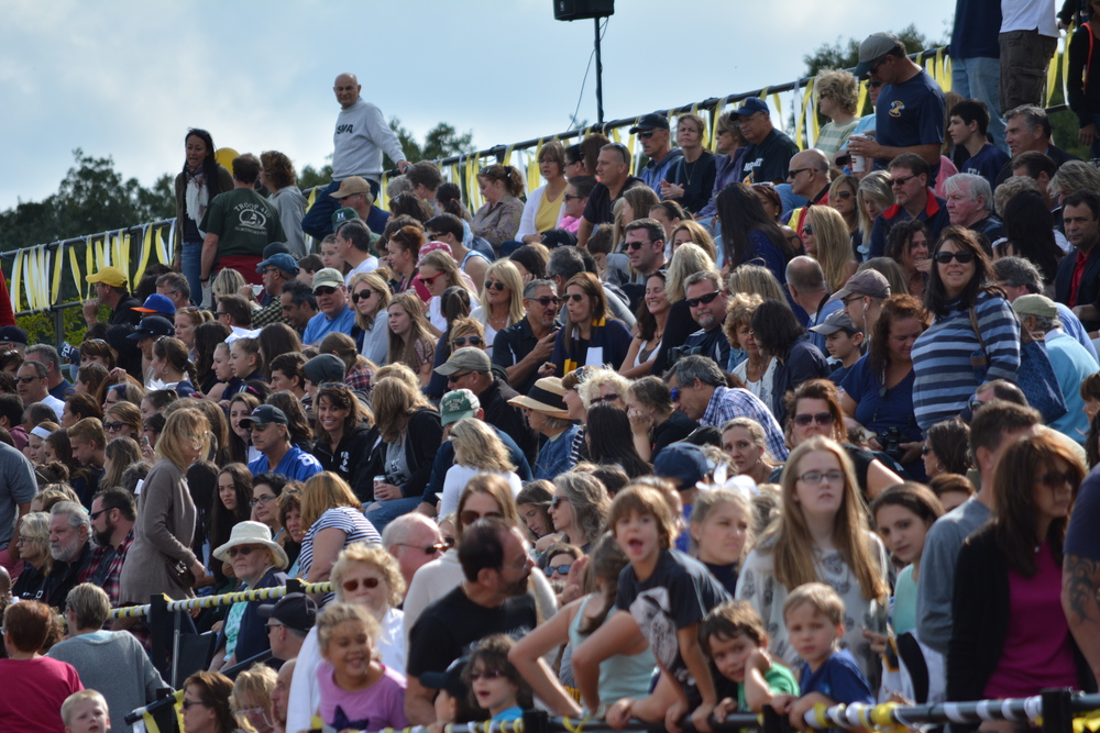Between homecoming spirit, buzz of Northport introducing its first athletic hall of fame class and a shutout by the varsity football team, the crowd at Northport High School on Saturday is excited, to say the least.