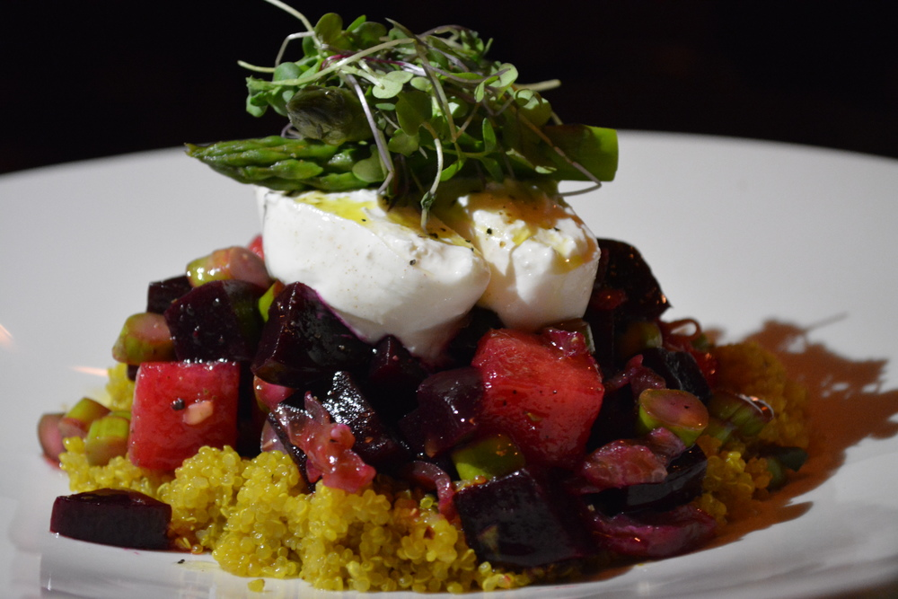 New to Vitae's fall menu, to be rolled out within the next few weeks, is the Burrata salad.