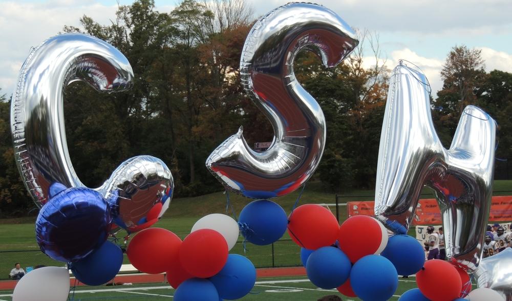 School spirit was aplenty during Cold Spring Harbor's homecoming festivities on Saturday.