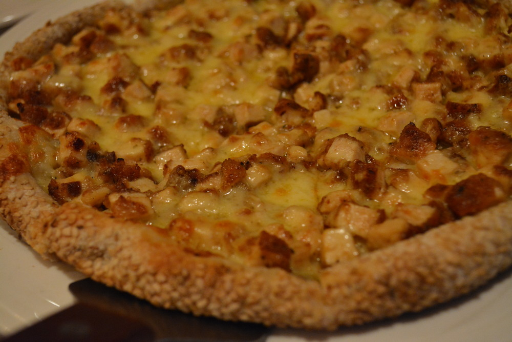 Popular Honey Dijon pizza is one of many personal pie choices.