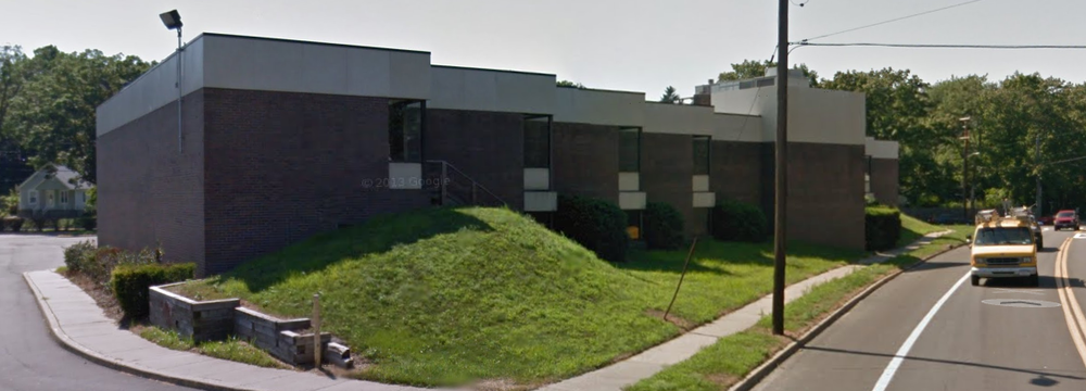 The former home of the South Huntington Public Library, which had been vacant until recently, when the South Huntington School District began a series of public-private partnerships with local organizations and businesses. (Photo Credit: Google Maps).