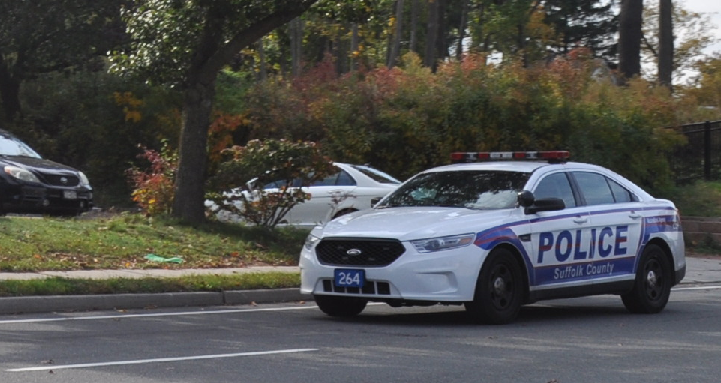 Suffolk County PD brass have confirmed more patrols, pictured Wednesday, are under way in Huntington Station amidst a push for a police annex.