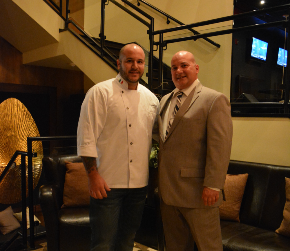 Chef Joseph Balbo and Manager Ben Laiacona of Porto Vivo in Huntington.