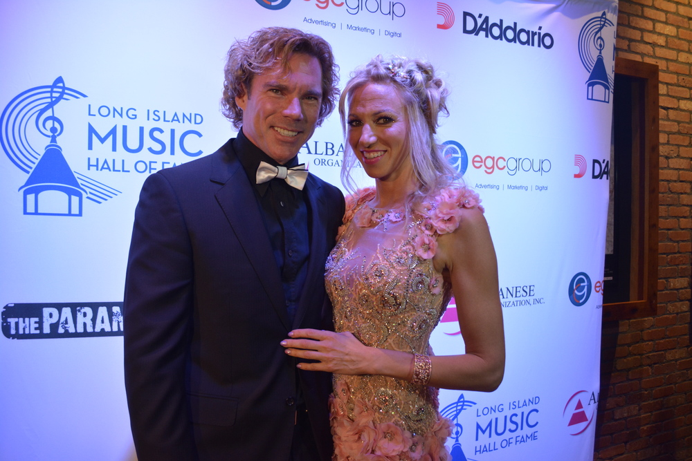 Debbie Gibson, the youngest person to write, produce and perform a No. 1 hit song, attended the event with her husband.