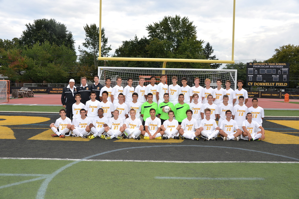 The 2014 St. Anthony's High School boys varsity soccer team.