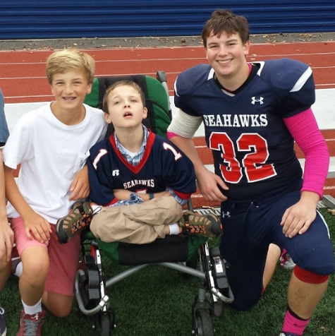 Pictured: R.J. Schupler, 12, Will Schupler, 10, and Devin Burdo, 16.