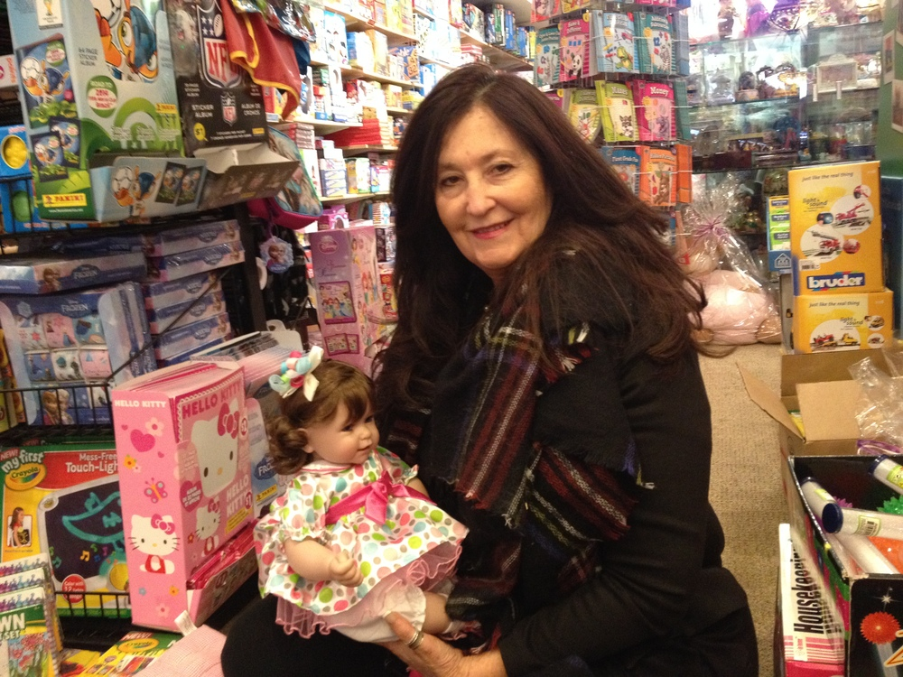 Lily Bergh opened Little Switzerland Toys + Dolls on New York Ave. in 1981 before moving to its current Main Street location.