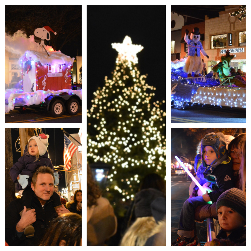 Photos from throughout the Huntington Village Holiday Parade (check the full gallery below)!
