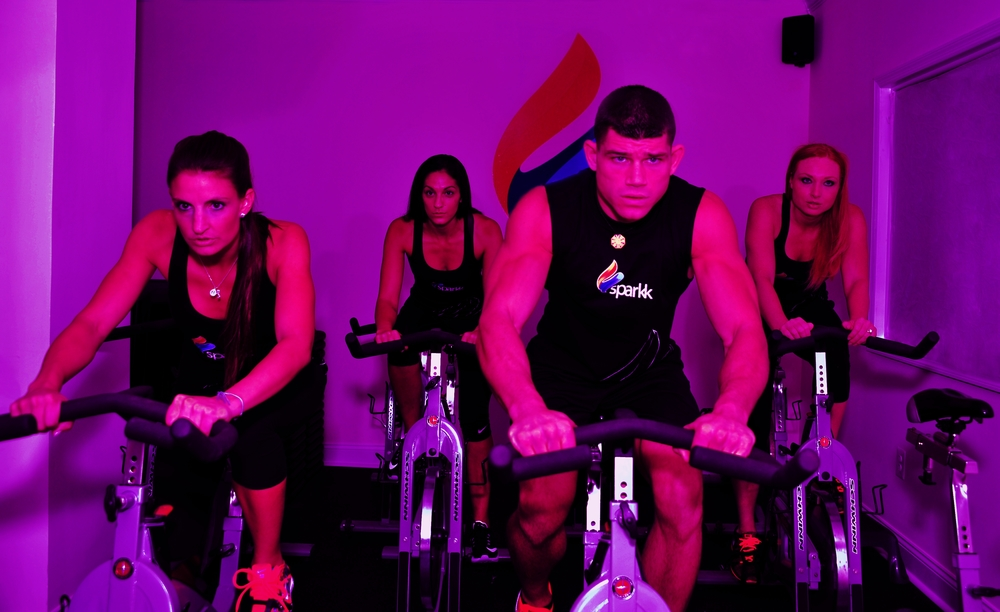 Sparkk Fitness offers one-hour fitness classes, capped at 14 students each.
