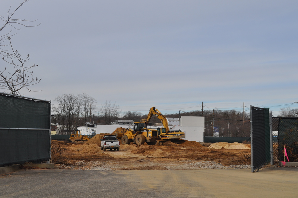 Preparation work is underway Tuesday at the future site of Chevrolet of Huntington.