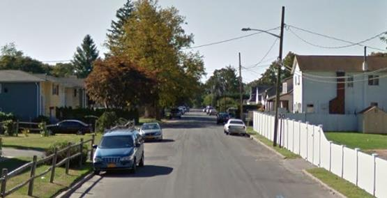 10th Avenue in Huntington, where an East Northport teen was caught allegedly driving high on marijuana with his 15-year-old brother in the car (Photo: Google Maps).