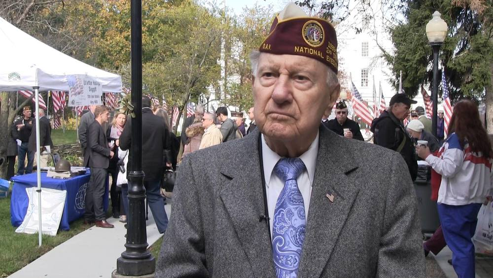 Sal Tornatore, pictured at a Veterans Day ceremony at Town Hall in November, died Jan. 22 in a car crash.