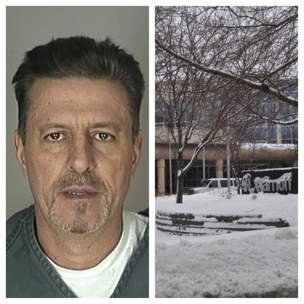 John Martin was one of two charged Jan. 28 tied to allegations of a cocaine conspiracy case. He was arrested in the parking lot of the Melville Marriott. Not pictured - his alleged co-conspirator, Joseph Rosati.