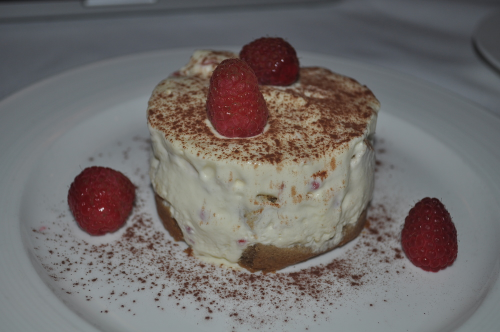 Raspberry tiramisu puts a new spin on a classic, but like any good tiramisu, is creamy and light.