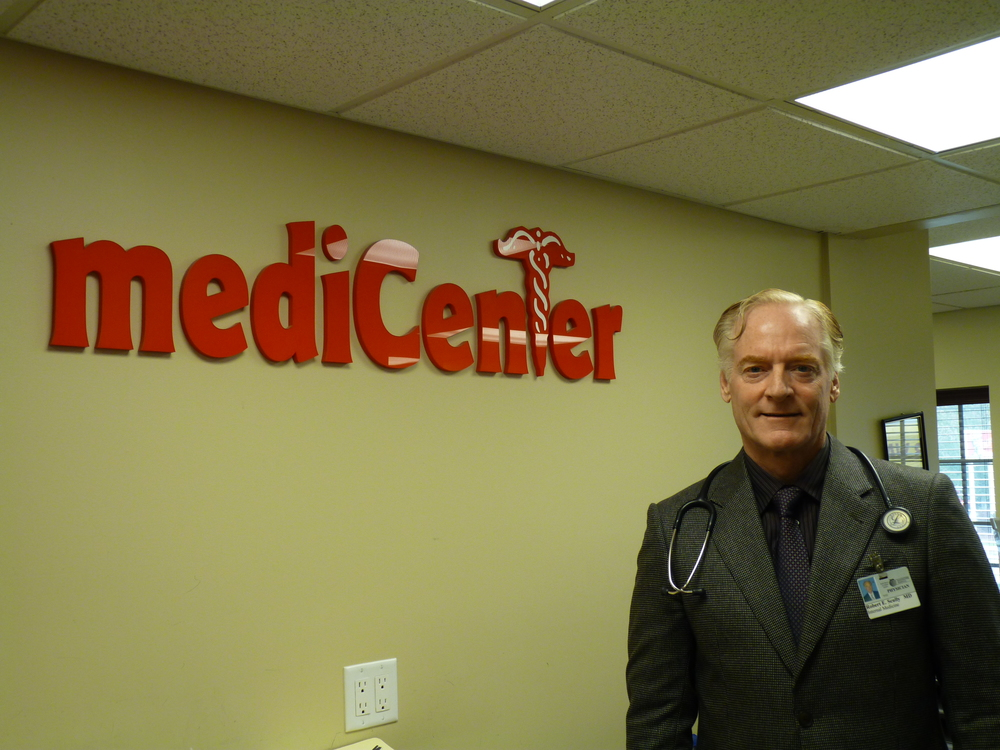 Dr. Robert E. Scully opened his first Medicenter in 1990 and has continued to work in urgent care since.