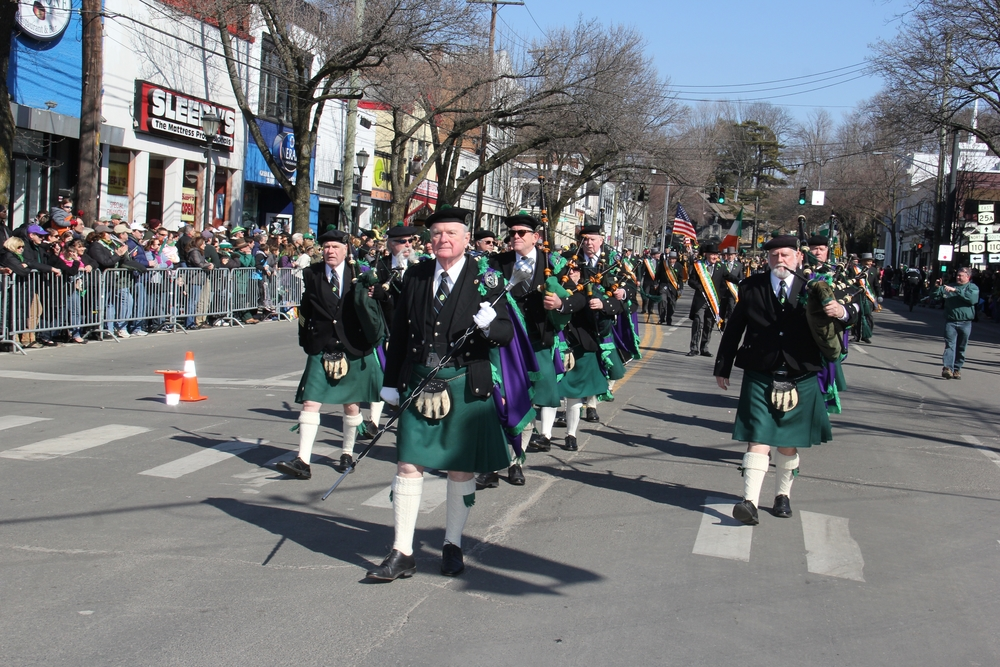 Long Island longest-running and largest St. Patrick's Parade kicks off Sunday, March 8 at 2 p.m. This year's event features 17 pipe bands.