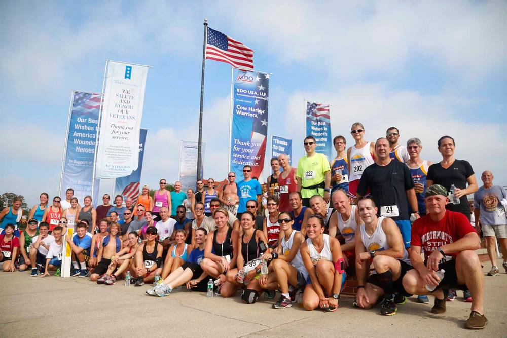 Cow Harbor Warriors will have use of Crab Meadow Beach Park for this year's USMC 4-Mile Warrior Run despite objections raised by Huntington Councilwoman Susan Berland. over the group's financial disclosures. Participants in the 2014 event are pictured above.