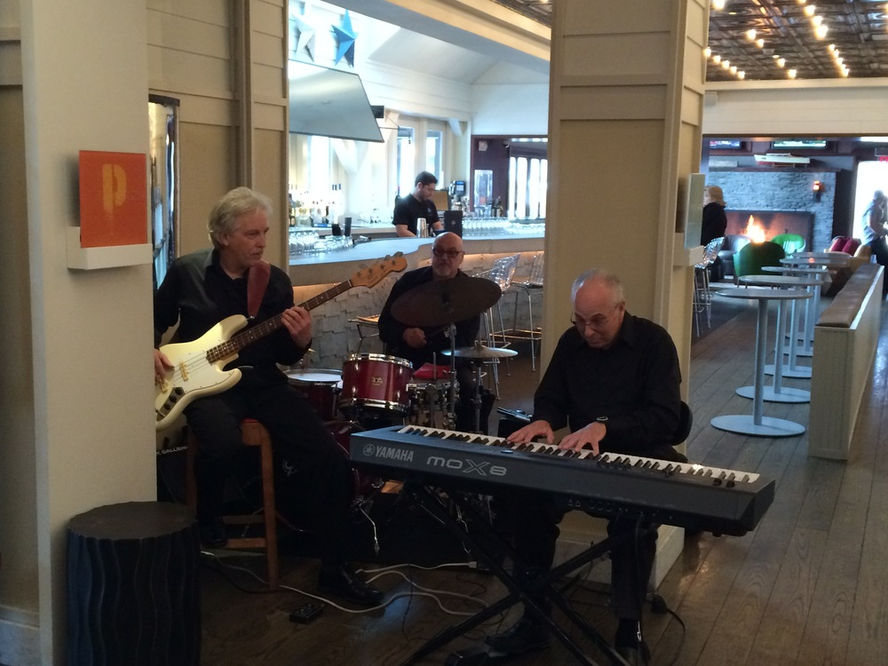 The band is hot and the cuisine sizzles during Prime's weekly Sunday jazz brunch.