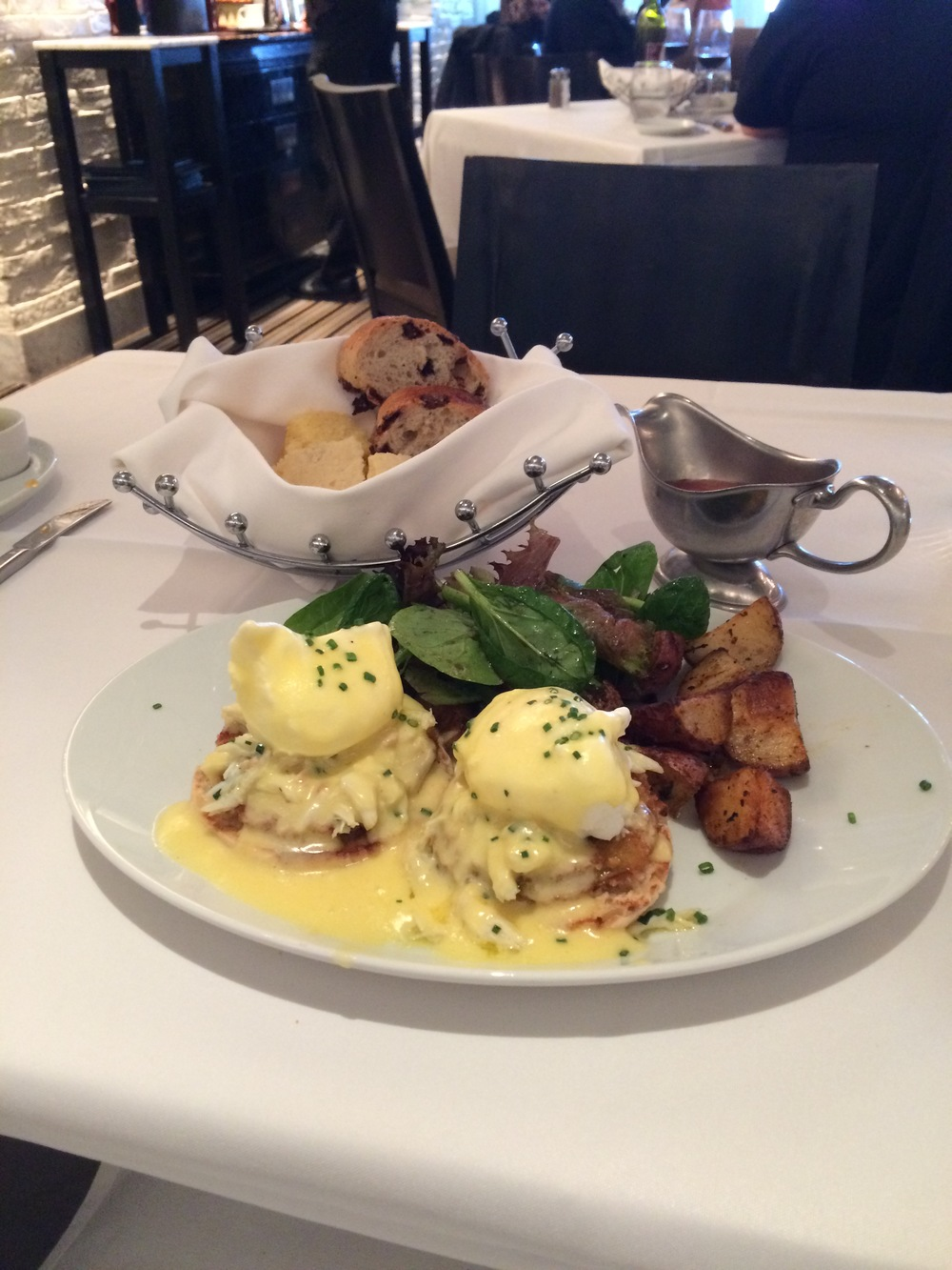 Prime Benedict puts a new, sophisticated nautical spin on a breakfast classic.
