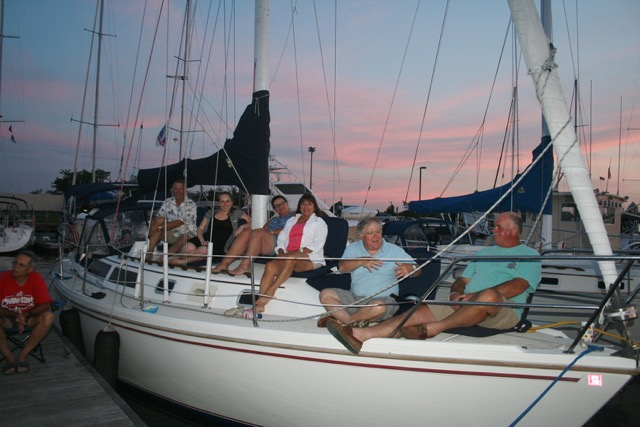 Masthead Cove Yacht Club Members enjoy themselves at the club's 2014 New York City Cruise.