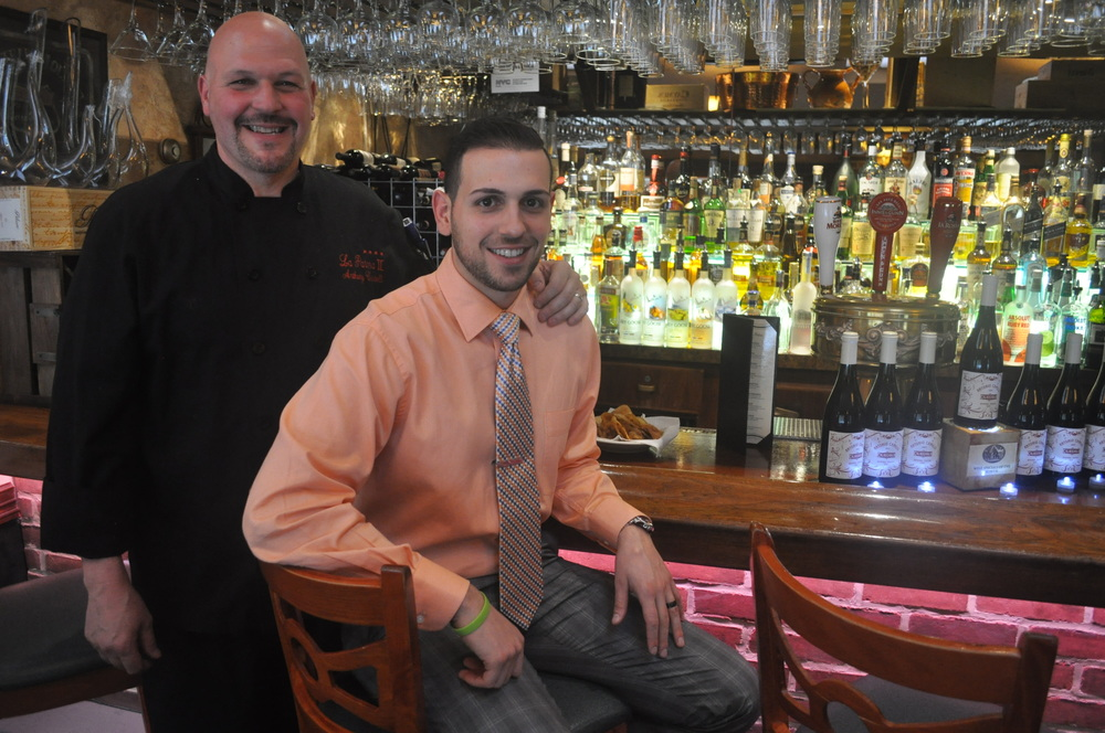 Longtime executive chef/owner Anthony Castelli and his son, Vincent Castelli, keep traditional family-style Italian dining in the forefront at La Parma II.