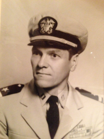 An undated photo of Frank Minnock during his Navy years.