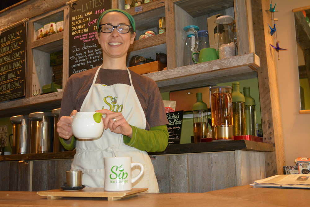 Sip Tea Lounge owner Nicole Basso has been serving up a delectable environment and cups of refreshing tea in Huntington village since January 2013.