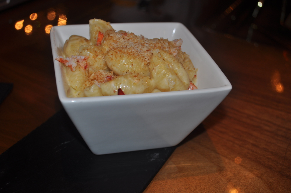 Lobster mac & cheese is a decadent, smoky delight.