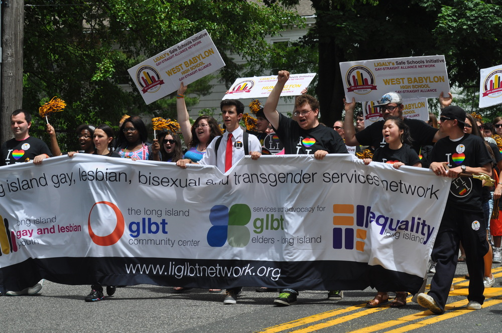 Pride returns to Huntington village June 13, when the 25th anniversary Long Island gay pride parade will step off at noon.