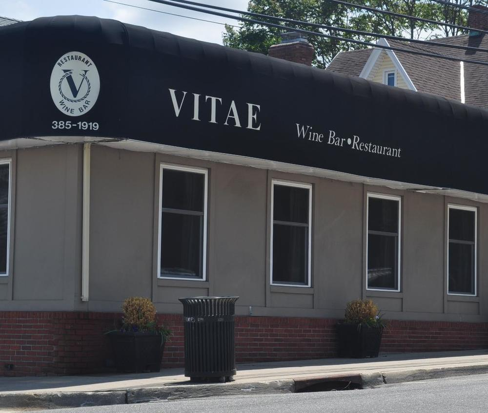 Vitae Restaurant is being eyed by Uncle Jack's Steakhouse for a possible Huntington location, town officials have confirmed. Inset, Uncle Jack's owner William Jack Degel.